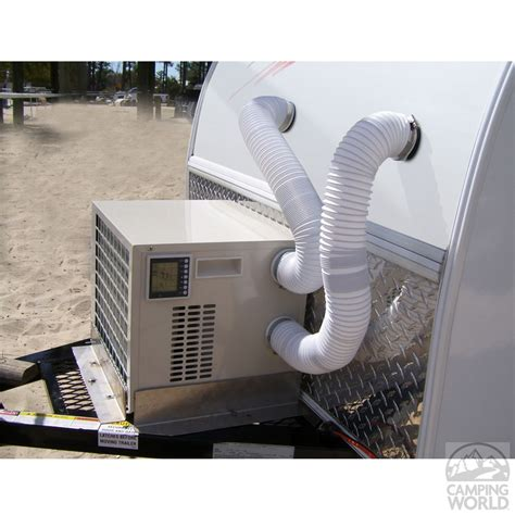 Ac Portable Di Alaska climateright portable tent and small rv air conditioner heater combo would be great for tiny