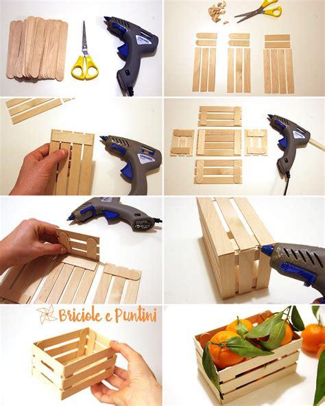 come costruire una cassetta di legno mini cassette di legno fai da te con gli abbassalingua