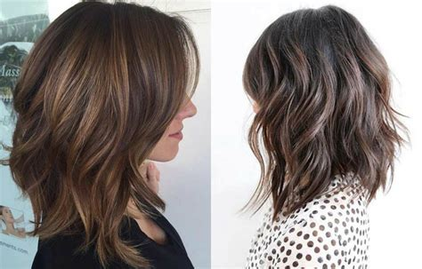 haircuts thick hair trendy lob hairstyles you can have today hairdrome com