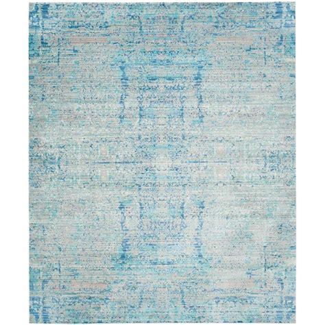 Light Blue Kitchen Rugs Safavieh Mystique Light Blue Multi 8 Ft X 10 Ft Area Rug Mys971d 8 The Home Depot