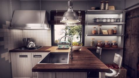 vintage modern kitchen modern romanian home design fuses vintage with