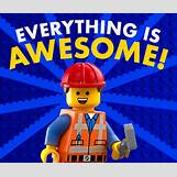 Lego Movie Everything Is Awesome Song Lyrics | 600 x 505 png 353kB
