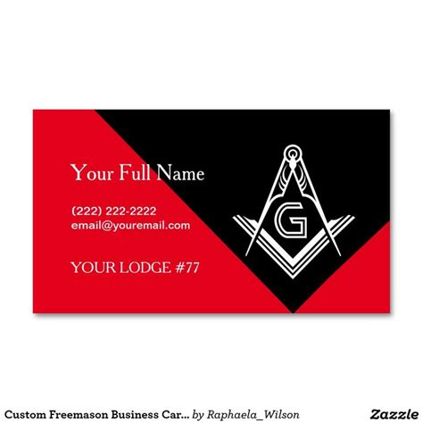 Freemason Business Card Templates by 1000 Images About Masonic Business Cards Invitations