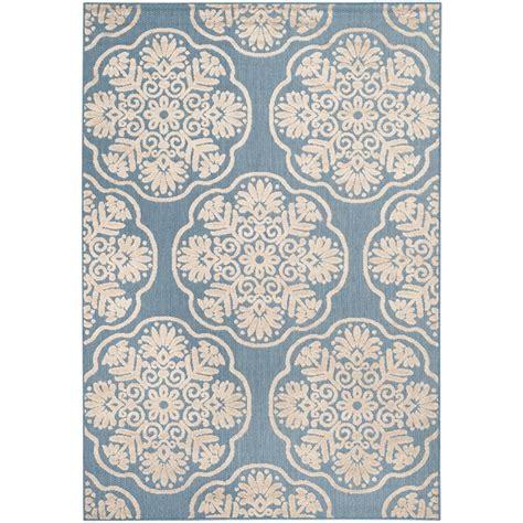 natco home fashions rugs natco kurdamir ii taza light blue bone 5 ft 3 in x 7 ft 7 in area rug 6609bl69h 080 the