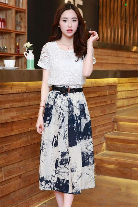Jy778103 Top Big Size Dress Korea Import Baju Korea Big Size Dress Cantik Korea Baju Korea