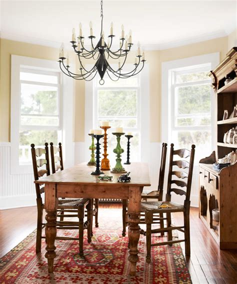 Farmhouse Dining Room Dining Room Makeovers Easy Makeover Ideas For Dining Rooms