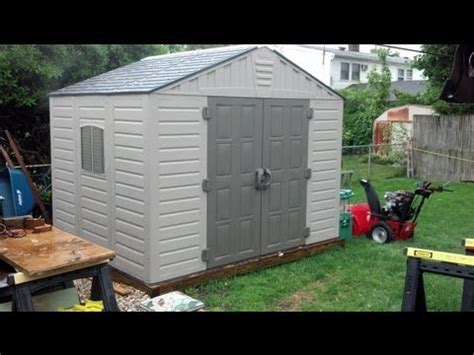 Barrette Sheds by Building A Barrette Homestyles Shed Menards How To