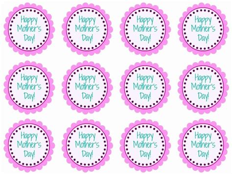 free printable mother s day cupcake toppers