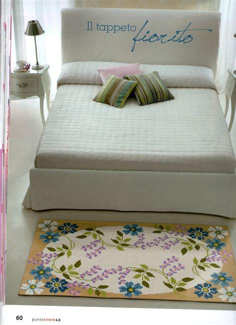 tappeto fiorito tappeto fiorito 1 magiedifilo it punto croce uncinetto