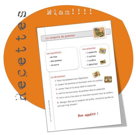 recette de cuisine l馮鑽e recettes de cuisine pour la classe bout de gomme