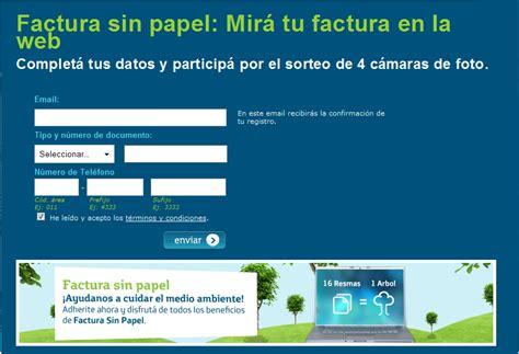 imprimir cupon de pago youtube factura sin papel telef 243 nica argentina universo guia