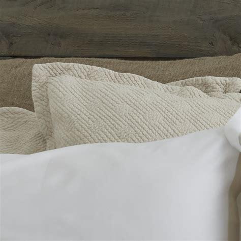 coverlet sham traditions linens bedding flynn coverlet shams