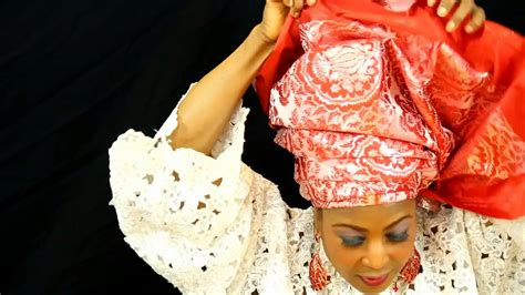 how to tie nigerian wrapper igbo wrapper yoruba style how to tie full african headtie wrapper tutorial gele