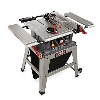 craftsman 10 quot table saw with laser trac 174 21807