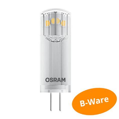 Lu Led Osram 20 Watt osram led pin g4 1 8watt wie 20 watt 200 lumen warm