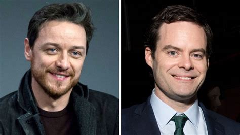 james mcavoy cast it 2 casts james mcavoy and bill hader hollywood reporter