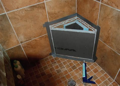 building a shower bench wedi shower systems 2 quot backer board ready for tile