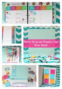 home organization binder how to organize a home management binder with free