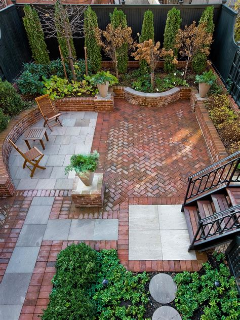 beautiful patio types of brick patio designs to make your garden more