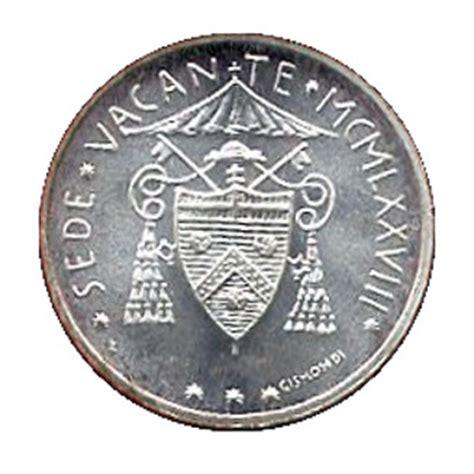 coin sede 500 lire sede vacante vatican city numista