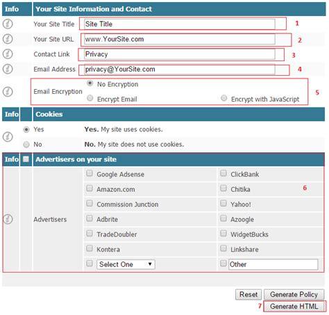 cara membuat blog halaman cara membuat halaman privacy policy di blog blogsipan