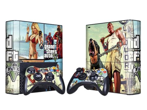 Sticker Auto Gta 5 by Grand Theft Auto Gta 5 Game Decal Skin Sticker For Xbox