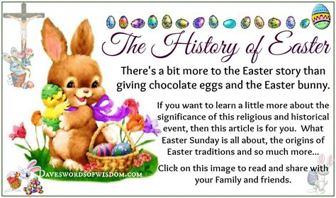 easter facts daveswordsofwisdom com the history of easter