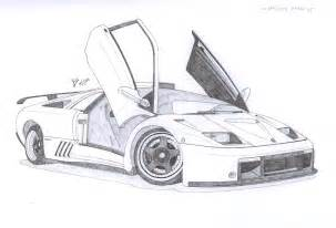 Drawings Of Lamborghinis Lamborghini Diablo Gt By Under18carbon On Deviantart