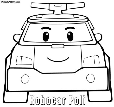 Robocar Poli Coloring Pages Coloring Pages To Download General Jumping Coloring Books