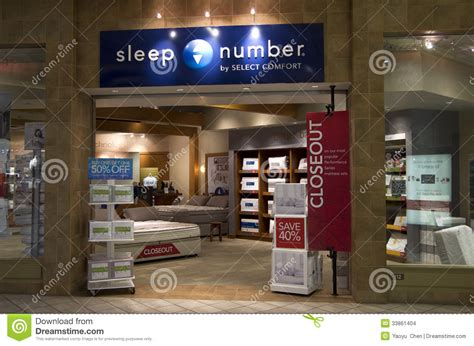 sleep number bed store near me mattress bed store editorial stock image image 33861404