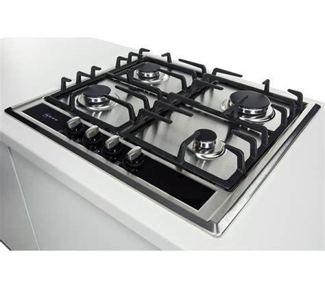 Buy NEFF T23S36N0GB Gas Hob   Stainless Steel   Free