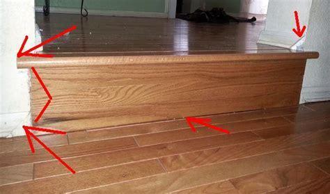 Steps and nose hardwood    easy to DIY?   DoItYourself.com
