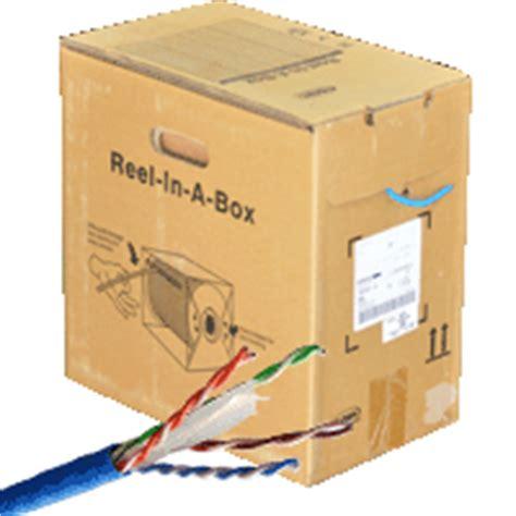 Kabel Kabel Cable Utp Cat6 Blue 1427071 6 netconnect utp cable cat 6 4 pair 24 awg cm rate jacket blue color bismon