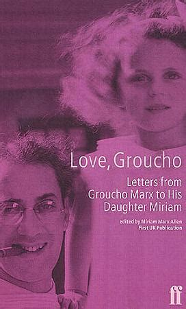 le lettere di groucho marx the marx brothers bibliography