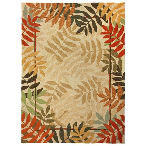 outdoor rug 3x5 homefires painted forest 3x5 outdoor rug 235533 rugs at sportsman s guide