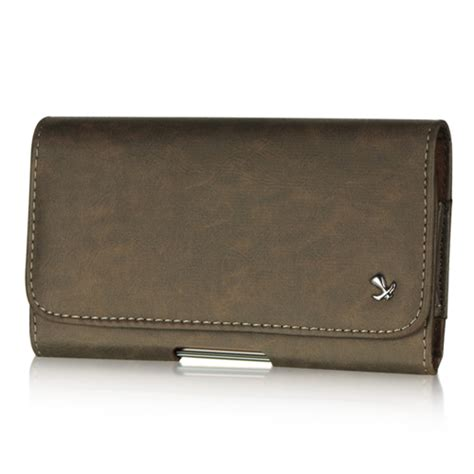 premium belt clip holster pouch leather holder for
