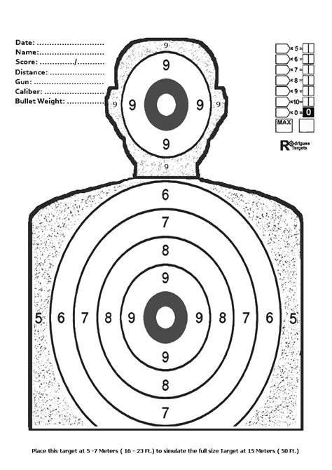 Free Printable Torso Targets | the gallery for gt terrorist shooting targets to print
