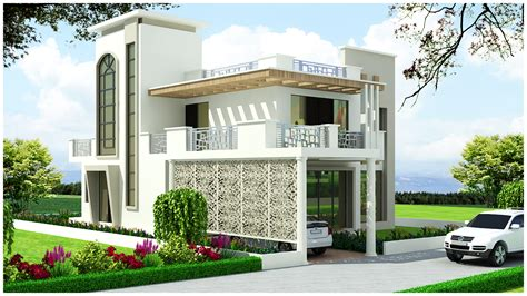 Kerala Home Design Flat Roof Elevation ghar planner leading house plan and house design