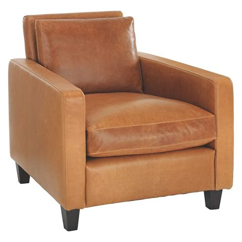 armchair feet chester mid tan leather armchair dark stained feet buy now at habitat uk