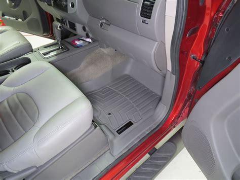 2017 nissan frontier weathertech front auto floor mats gray