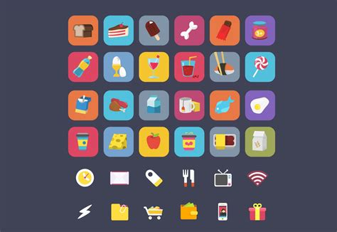 40 best free icon sets, Spring 2015 | Webdesigner Depot