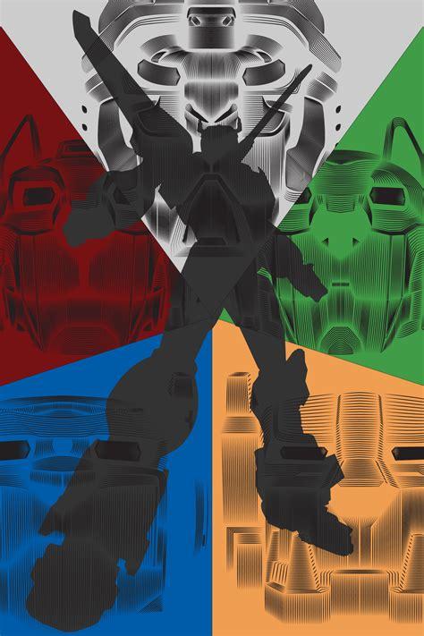 voltron legendary defender vector  poster posterspy