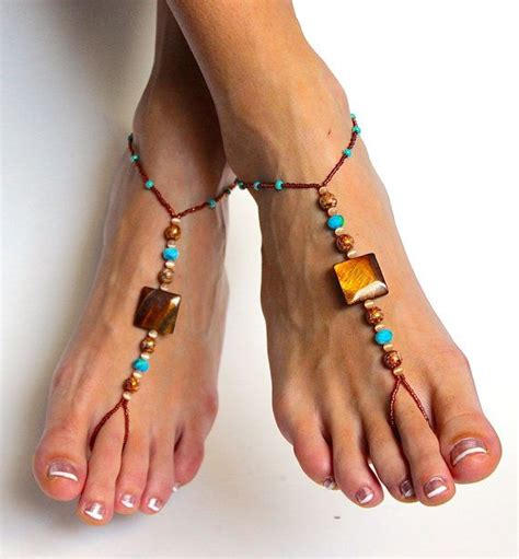 beaded barefoot sandals beaded barefoot sandals designs for