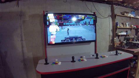 4 player arcade cabinet 4 player arcade cabinet plans lcd cabinets matttroy