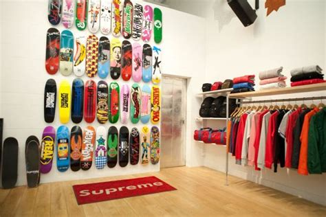 supreme new york store 17 best images about skating on shoe display