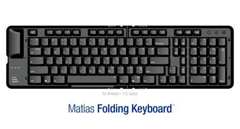 Keyboard For Pc Matias Folding Keyboard For Pc Or Mac By Matias Ergocanada Detailed Specification Page