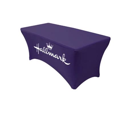trade show table covers with logo custom printed tablecloth