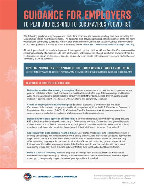 covid  employers response plan anderson county chamber  commerce