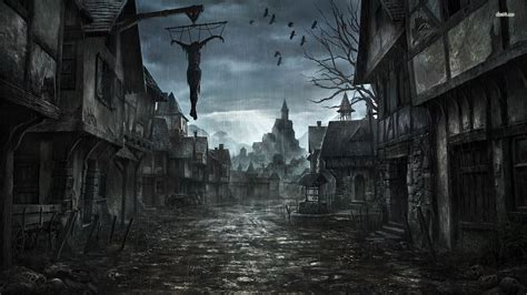 dark village wallpaper top scary night wallpapers 51 50 pinterest scary