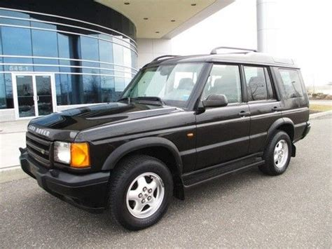 how cars run 1999 land rover discovery series ii parental controls purchase used 1999 land rover discovery series ii black low miles 1 owner in bohemia new york